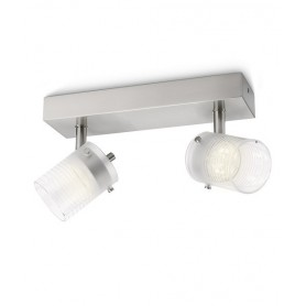Philips Toile Faretto da Parete/Soffitto 2 Luci Led