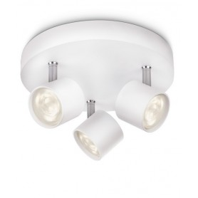 Philips Star Faretto da Soffitto 3 Luci Led