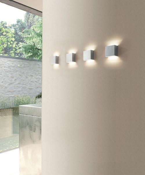 Sikrea Minibox Lampada da Parete 5 Colori Led