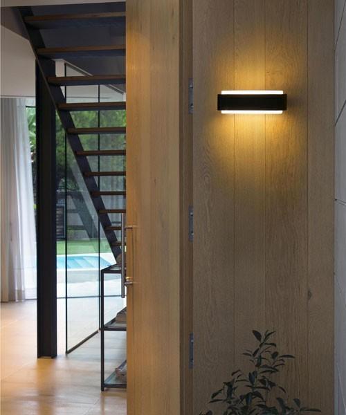 FARO Sticker 75540 Lampada per Esterno da Parete LED