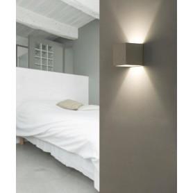 FARO Kamen 63312 Lampada da Parete in Cemento Grigio