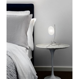 METAL LUX Dolce 260.211.07 Lumetto Moderno 1 Luce Cromo