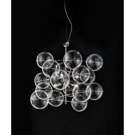 METAL LUX Atom 255.160.01 Lampadario 6 Luci Trasparente