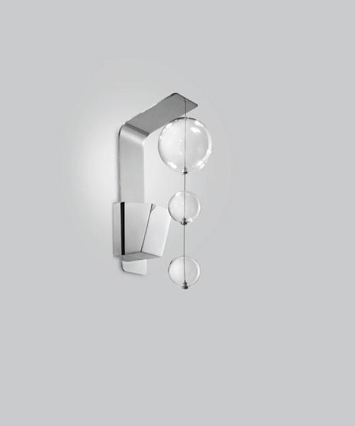 METAL LUX Bolero 251.111.01 Applique 1 Luce Trasparente