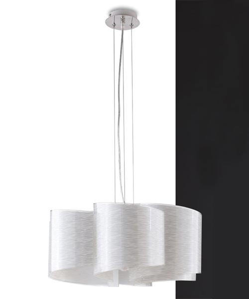FAN EUROPE Joyce S6 Lampadario Moderno in Vetro 6 Luci