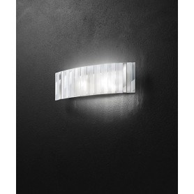 PERENZ 6286 Lampada da Parete 50cm Vetro Satinato e Trasparente