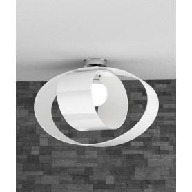 TOPLIGHT Lap 1146/PL55 BI Plafoniera Moderna 52cm Bianco