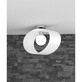 TOPLIGHT Lap 1146/PL40 BI Plafoniera Moderna 42cm Bianco