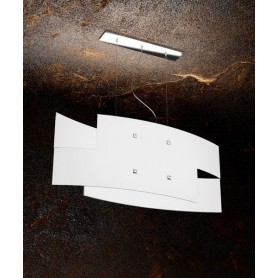 TOPLIGHT Tetris 1120/S75 Lampadario Moderno 75cm Vetro Bianco