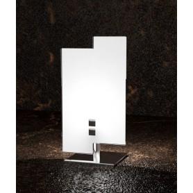 TOPLIGHT Tetris 1120/P Lampada Moderna da Tavolo Vetro Bianco