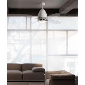 Faro Faretto 33389 Ventilatore da Soffitto con Luce Bianco