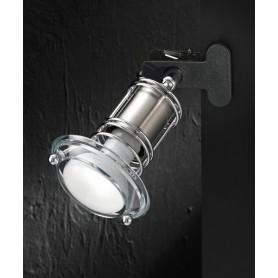 Perenz 4931 Spot Pinza 1 Luce Cromo spazzolato
