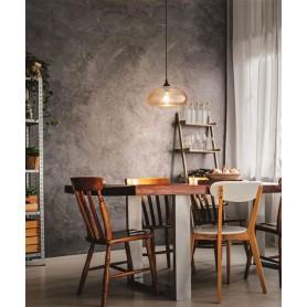 FABAS Ela 3489-40-125 Lampadario Moderno Ambra 1 Luce
