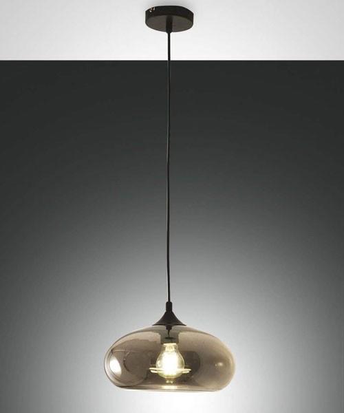 FABAS Ela 3489-40-126 Lampadario Moderno Fumé 1 Luce