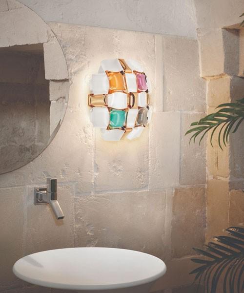 SLAMP Mida Multicolor Applique Moderna 32cm Multicolore
