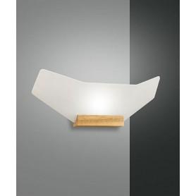 FABAS Flap 3475-21-215 Lampada Moderna da Parete Quercia