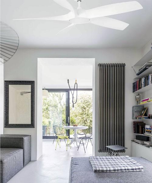 FARO Cocos 33548W Ventilatore da Soffitto con Luce Bianco