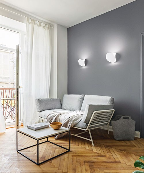 FABAS Shield 3540-21-102 Lampada Moderna da Parete Bianco