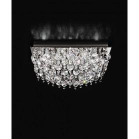 PERENZ 5841 Plafoniera con cristalli 9 Luci