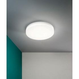 FABAS Trigo 3525-63-102 Lampada da Esterno per Soffitto a LED Sensore