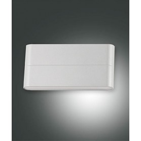 FABAS Casper 6788-02-844 Lampada da Esterno Parete LED Argento