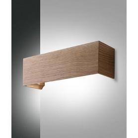 FABAS Badia 3383-21-215 Lampada Moderna da Parete a LED Legno