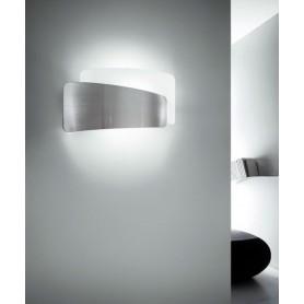 FABAS Slane 3177-21-178 Lampada Moderna da Parete Nichel