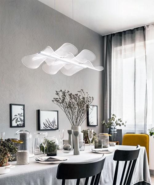 FABAS Sylvie 3626-49-102 Lampada Moderna a Sospensione LED