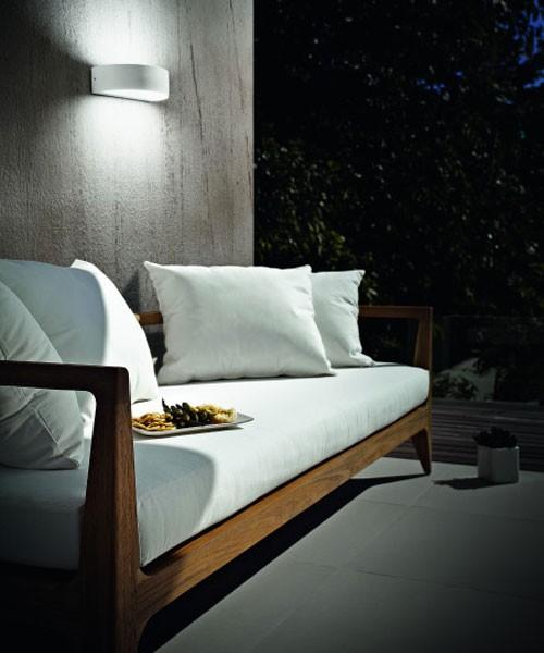 FABAS Wapi 6820-02-954 Lampada da Esterno da Parete LED Bianco