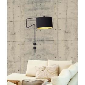 SIKREA Nicol/A 33533 Lampada Moderna da Parete Orientabile