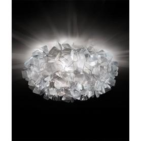 SLAMP Clizia Large Fumè Lampada Soffitto/Parete 3 Luci LED