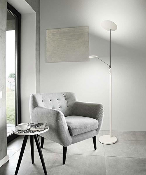 PERENZ Miranda 6448 B Modern Floor Lamp White LED