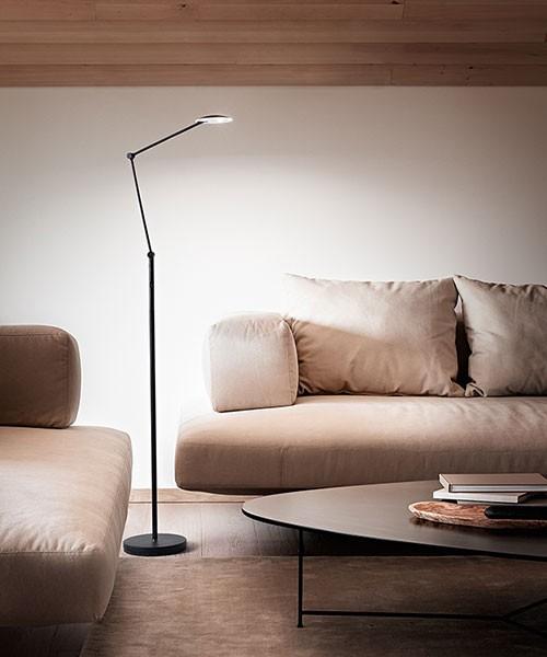 PERENZ Joint 6824 N LC Lampada Moderna da Terra LED Orientabile Nero