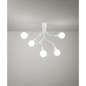 PERENZ Bulbo 6678-B Modern Ceiling Lamp 5 Lights