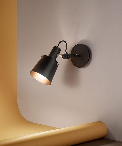 PERENZ Megafono 6802-N Faretto Industriale 1 Luce LED
