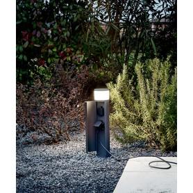 PERENZ Espina 6794 A Torretta Illuminata da Esterno con Schuko