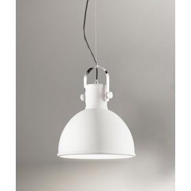 PERENZ Lumière 6066-B Sandblasted White Industrial Chandelier