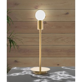 SIKREA Anna/L 2055 Modern Brass Table Lamp