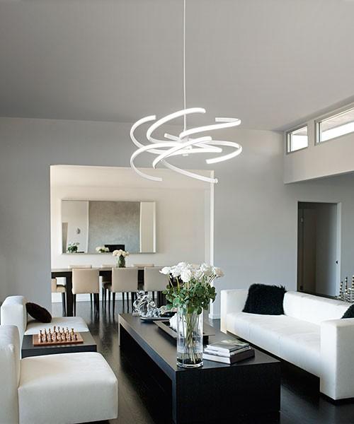 PERENZ Nest 6397 B LC modern LED chandelier
