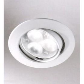 Elesi Luce Led'Eco 01082/FO08 Faretto incasso LED Bianco