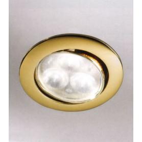 Elesi Luce Led'Eco 01082/FO08 Faretto incasso LED Oro