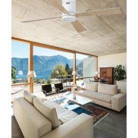 Faro Timor 33372 Ventilatore da Soffitto con Led Bianco