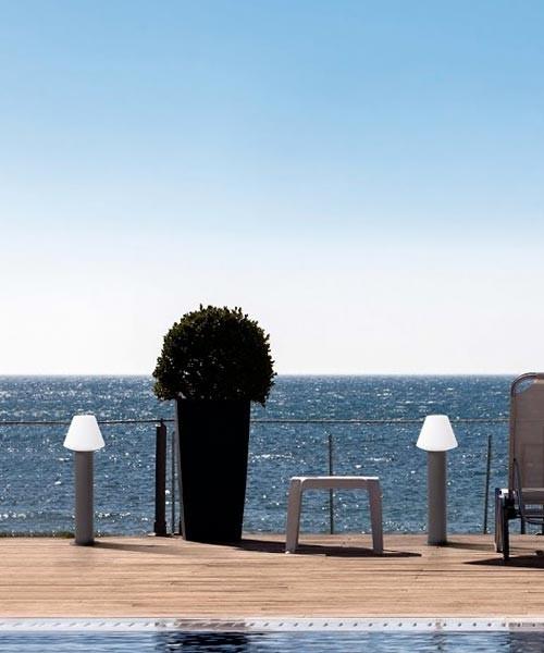 Faro Mistu 74434+74428 Lampada Terra da Esterno R.E