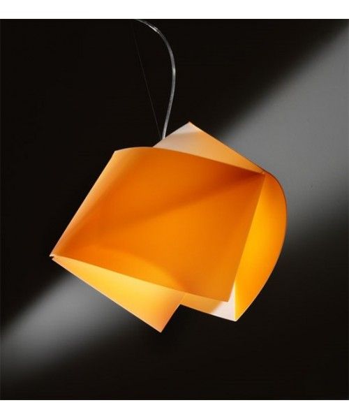 Slamp Gemmy Orange Lampadario 1 Luce R.E