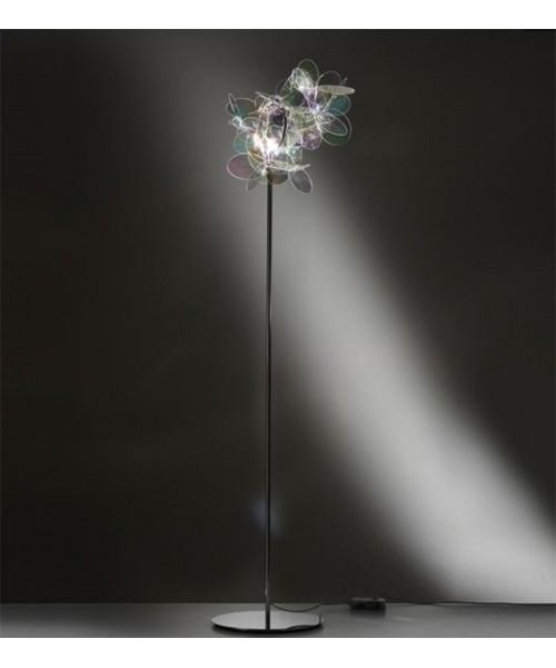 Slamp Mille bolle Lampada Terra 1 Luce Iridescente