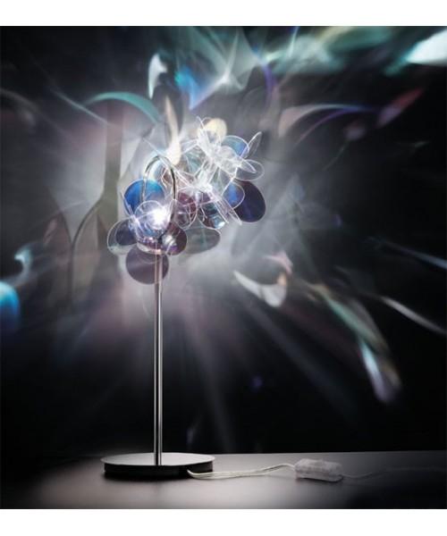 Slamp Mille Bolle Lampada Tavolo 1 Luce Iridescente