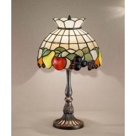 Perenz T924 + B612 - lampada da Tavolo rilegata stile Tiffany