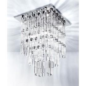 Micron Milady M5780 Lampada Soffitto Cristallo 9 Luci