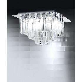 Micron Milady M5760 Lampada Soffitto Cristallo 9 Luci