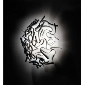 Slamp Veli Charcoal Mini Lampada Parete/Soffitto 1 Luce R.E